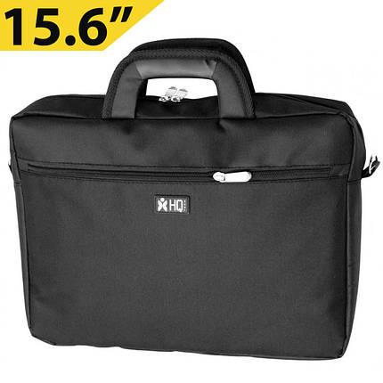 """Сумка для ноутбука 15.6"""" HQ-Tech LS-1510S, черная, фото 2"""