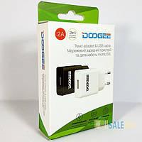 Зарядное устройство Doogee, кабель (шнур) micro USB 1.2 м для смартфона, 2 А, зарядка подходит к Meizu, Xiaomi