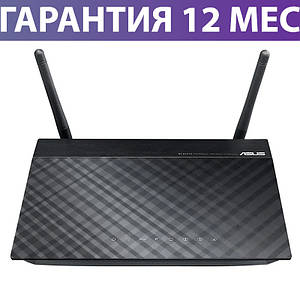 Wi-Fi роутер ASUS RT-N12E, проста настройка за 30 секунд, радіус до 200 кв. м., вай фай маршрутизатор асус