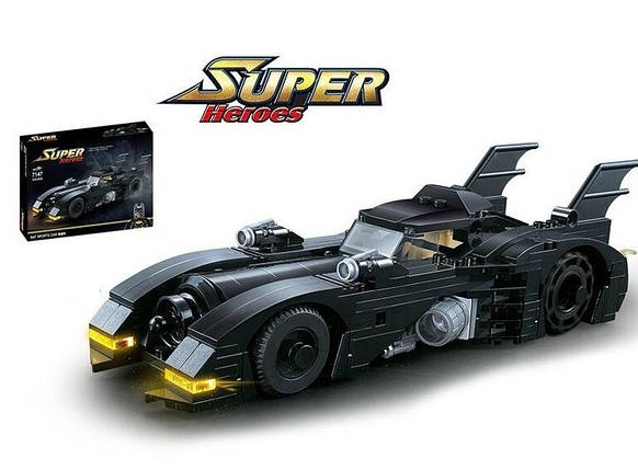 Бэтмобиль Конструктор Машина Бэтмена ABC, фото 2