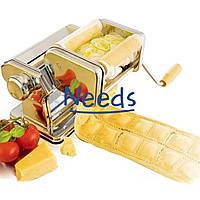 Лапшерезка Pasta Set Machine тестораскатка с насадкой для равиоли