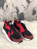 Мужские кроссовки Nike Air Huarache, мужские кроссовки найк аир хуарачи (41,44 размеры в наличии), фото 2
