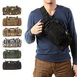 Набор 5в1 для охоты и рыбалки! Перчатки, Сумка, Мультитул, Нож, фото 9