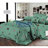 Комплект постельного белья Kris-Pol Сердечки №182175-2 Ранфорс двуспальный 180х220