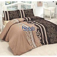Комплект постельного белья Kris-Pol Vellure Бязь №140668-2е на резинке двуспальный евро 200х220