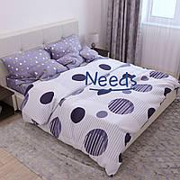 Комплект постельного белья Kris-Pol Fysiia Бязь №147420-2е на резинке двуспальный евро 200х220
