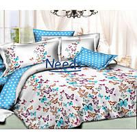 Комплект постельного белья Kris-Pol Blaz Бязь №147453-2е на резинке двуспальный евро 200х220