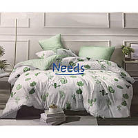 Комплект постельного белья Kris-Pol Кактусы Бязь №157569-2е двуспальный евро 200х220