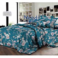 Комплект постельного белья Kris-Pol Букет №1832996-2е Ранфорс двуспальный евро 200х220