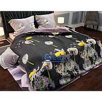 Комплект постельного белья Kris-Pol Одуванчики Бязь №143065-2е на резинке двуспальный евро 200х220