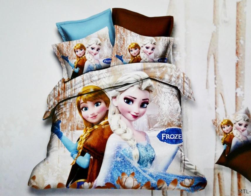 Детское полуторное постельное белье.