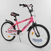 """Велосипед двухколесный Corso 5912 Aerodynamic 20"""" детский Розовый"""