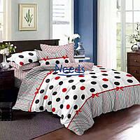 Комплект постельного белья Kris-Pol Carlo Бязь №143053-2 на резинке двуспальный 180х220
