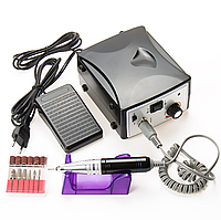 Фрезер для маникюра и педикюра Nail Drill Set ZS 701 45 Вт 45000 об/мин Черный
