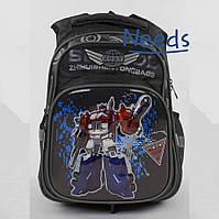 Школьный рюкзак для мальчика ортопедический с Трансформерами. Ранец портфель в школу для первоклассника (88084)