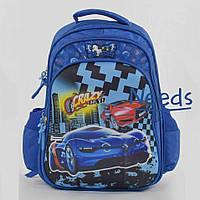 Школьный рюкзак для мальчика ортопедический. Ранец портфель для первоклассника в школу Синий (88140)