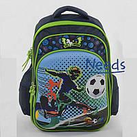 Школьный рюкзак для мальчика первоклассника ортопедический. Ранец портфель в школу Темно-синий (88138)