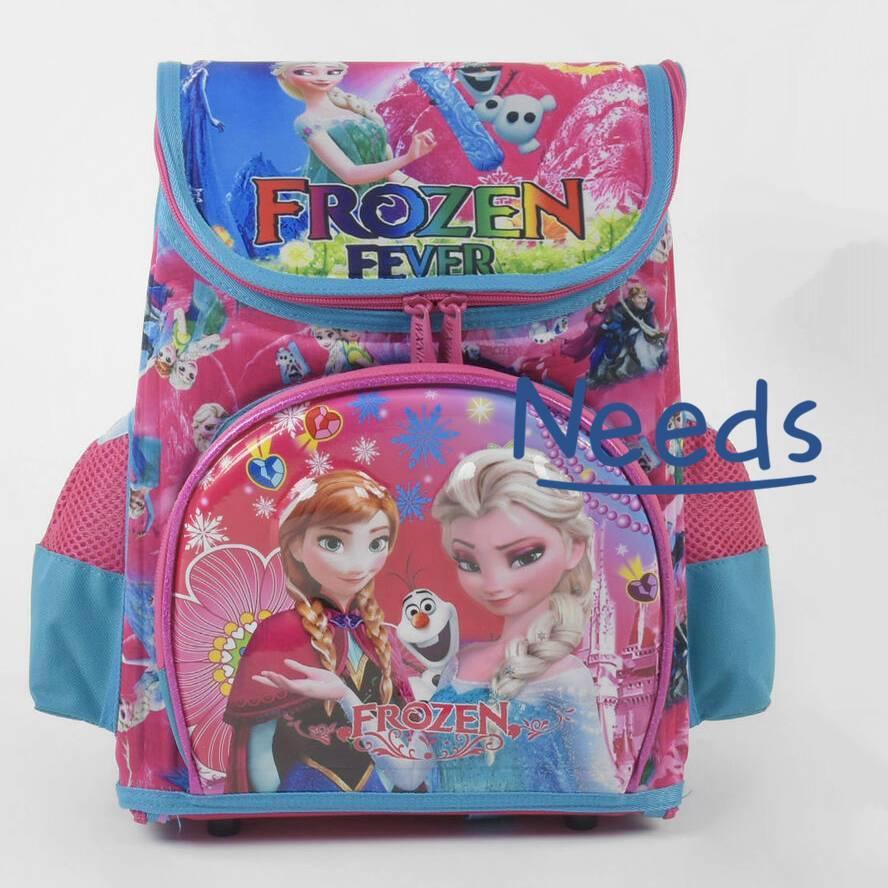 Школьный рюкзак для девочки ортопедический Frozen. Ранец портфель в школу для первоклассницы Розовый (88087)