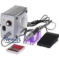 Фрезер для маникюра и педикюра Nail Drill Set ZS 701 45 Вт 45000 об/мин Серебро