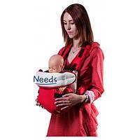 Рюкзак-кенгуру For Baby 12r для переноски детей Красный