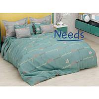 Комплект постельного белья Kris-Pol Good Morning Бязь №154217-2е двуспальный евро 200х220