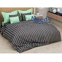 Комплект постельного белья Kris-Pol Cactus Бязь №154216-2е двуспальный евро 200х220