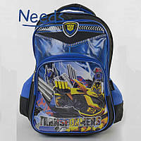 Школьный рюкзак для мальчика с Трансформерами. Ранец портфель в школу для первоклассника (86447)
