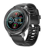 Смарт часы JET-5 Smart Watch BUSINESS 10023 Limited Edition с силиконовым ремешком Черные