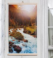 Настенный обогреватель-картина Trio Горная Река 400Вт 100x57см электрический инфракрасный