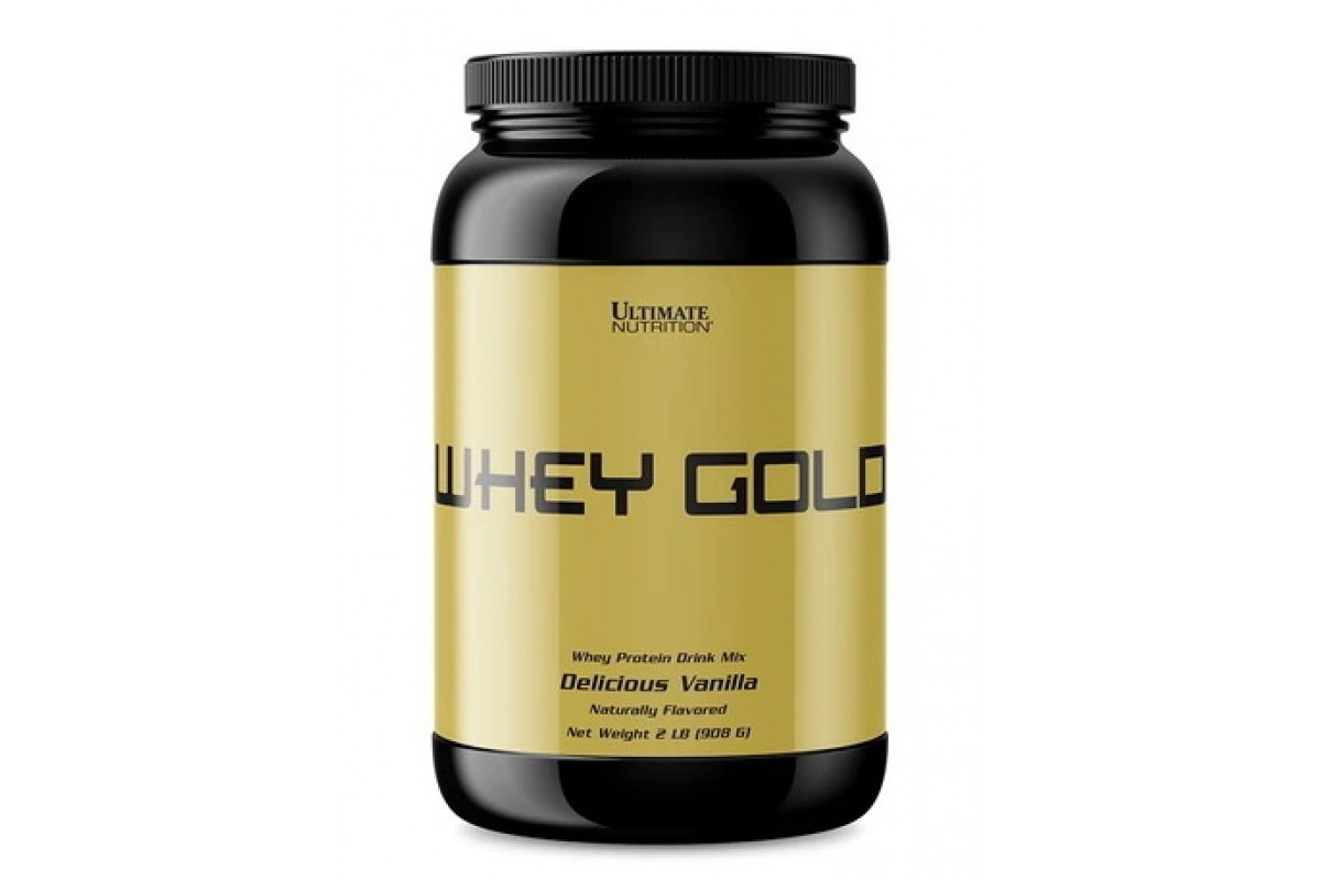 Протеин Ultimate Nutrition Whey Gold 908 g