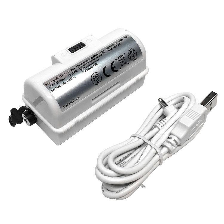 Аккумулятор для пылесоса iRobot 4446040 5300mAh 3.6V белый