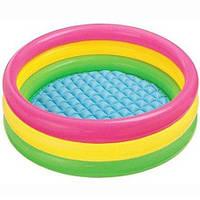 Большой детский бассейн Intex,86х25см,басейн,дитячий басейн