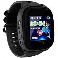 Детские смарт-часы Smart Baby Watch BLKDF25 с GPS-модулем водонепроницаемые Черные