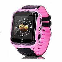 Детские смарт-часы Smart Baby Watch PNKQ528 c GPS-модулем Розовые