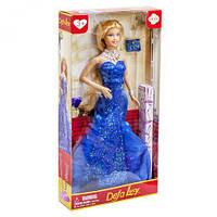 """Кукла """"Defa Lucy"""" в вечернем платье (в синем)  8270 ( TC114348)"""