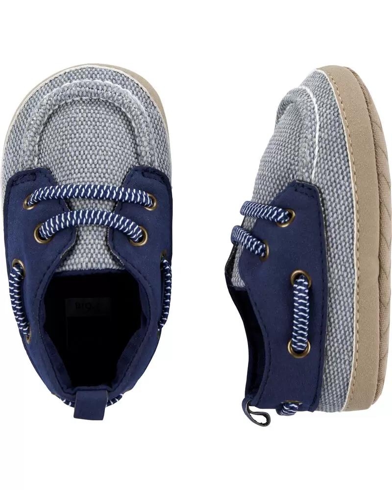 Пинетки Carters Картерс, первая обувь малыша, обувь для новорожденных