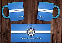 "Чашка ""ФК Манчестер Сити"" / Кружка ""Manchester City"" №2 Голубой"