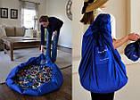 Коврик для игрушек LEGO - сумка для хранения игрушек 150 см - Синий, фото 6