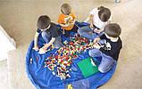 Коврик для игрушек LEGO - сумка для хранения игрушек 150 см - Синий, фото 2