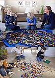 Коврик для игрушек LEGO - сумка для хранения игрушек 150 см - Синий, фото 7