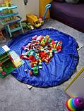 Коврик для игрушек LEGO - сумка для хранения игрушек 150 см - Синий, фото 3