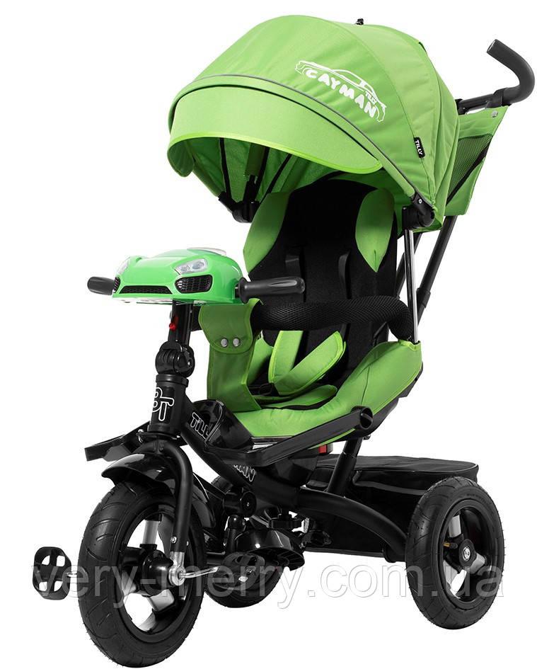 Триколісний дитячий велосипед Tilly Cayman (зелений колір)
