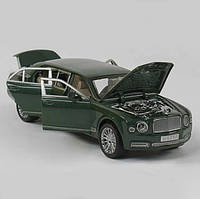 Машинка металлическая EL 3902 ТК Group М1:24 Bentley с открывающимися дверями, (2 цвета), свет, звук
