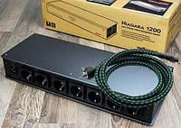 Audioquest Niagara 1200 система кондиционирования электропитания на 7 розеток до 15 А + power 1.0m