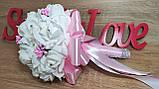 Свадебный букет  для невесты Нежность. Цвет розовый., фото 3