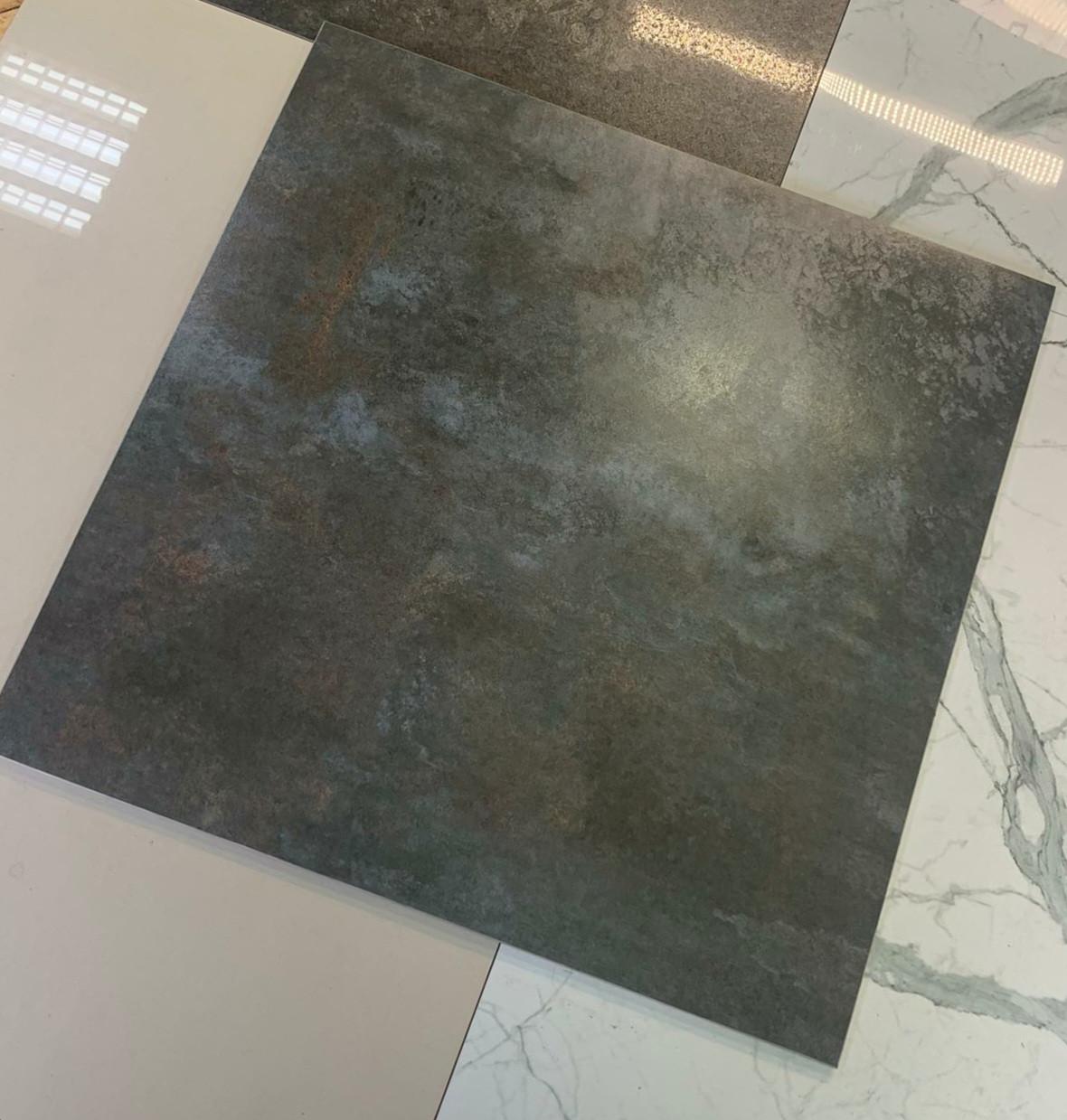 Плитка для підлоги Metallika сірий 600x600