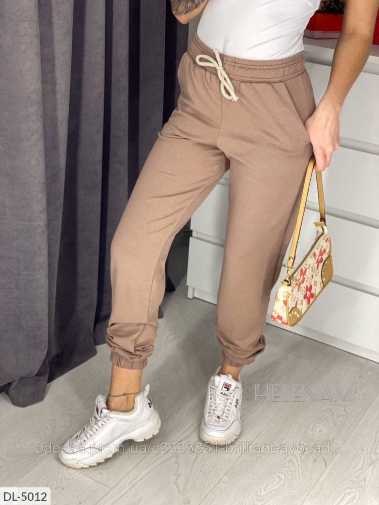 Женские спортивные штаны в модных расцветках