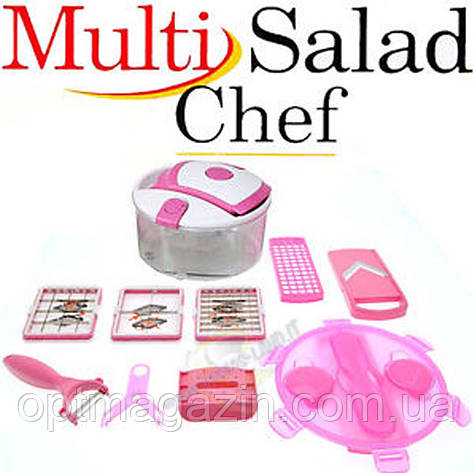 Терка для овочів Multi salad Chef, фото 2