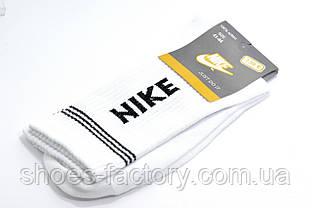 Мужские белые носки Nike высокие White