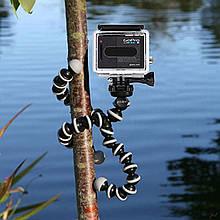 Штатив гнучкий міні для GoPro, телефону, фотоапарата + ПОДАРУНОК
